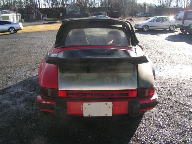 Porsche 911 Convertible 1974 Red For Sale 9114111027 1974 Porsche
