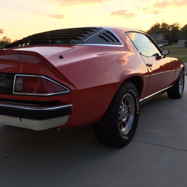 Chevrolet Camaro Coupe 1975 Red For Sale. 1S87L5N588560
