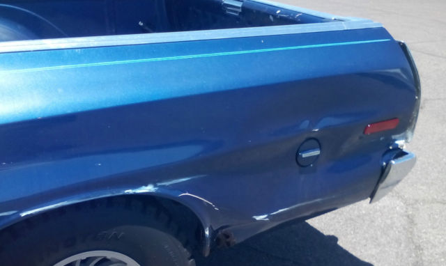 Ford Ranchero 1975 Blue For Sale  5A48S103299 1975 CLASSIC FORD