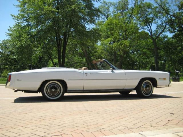 Cadillac Eldorado CONVERTIBLE 1976 WHITE For Sale