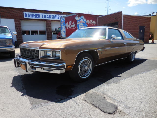 Chevrolet Caprice 2-Door Hardtop 1976 Brown For Sale  1N47V6J189422