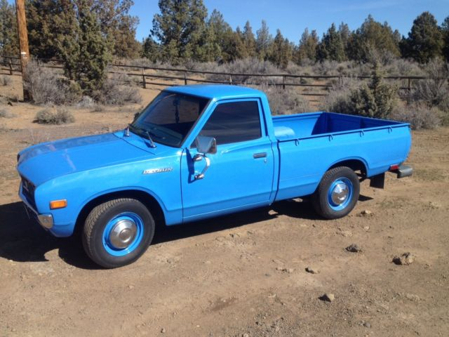Datsun Other Standard Cab Pickup 1976 Blue For Sale