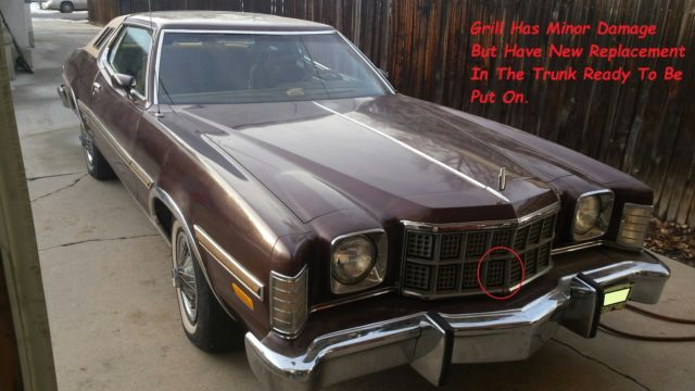 Ford Torino Coupe 1976 Brown For Sale  6G21H229126 1976 Ford