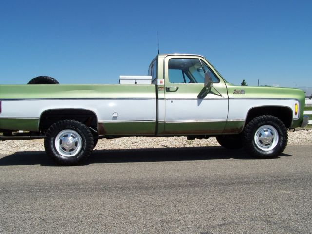 GMC Sierra 2500 Cab & Chassis 1976 Green For Sale