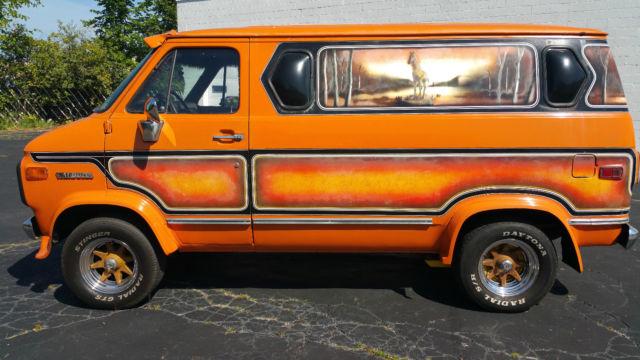 For Sale 1976 GMC Vandura Woodsman
