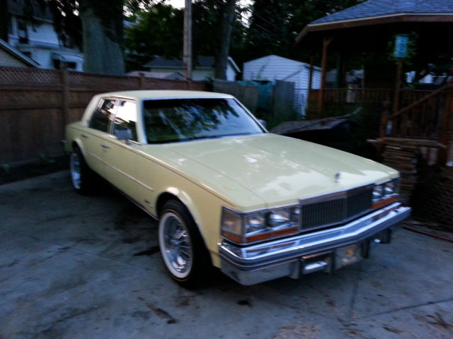 Used Tires Akron Ohio >> Cadillac Seville Sedan 1977 Yellow For Sale. 6S69R7Q479286 ...