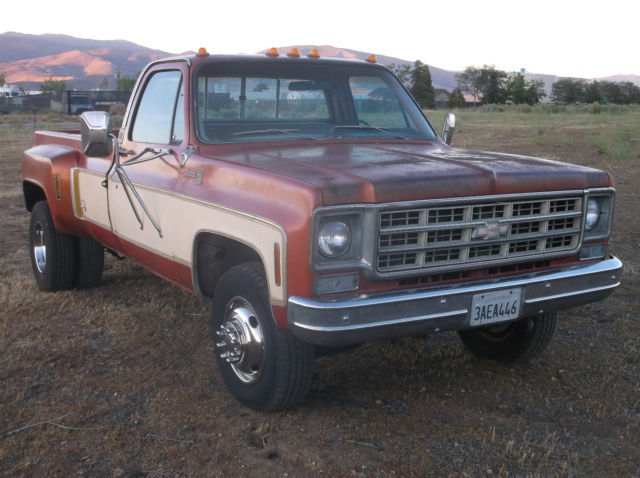 chevrolet other pickups single cab pickup 1977 68 russet metallic for sale 1977 chevrolet c30. Black Bedroom Furniture Sets. Home Design Ideas