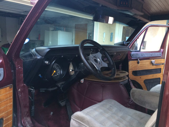 Dodge Ram Van 1977 Burgundy For Sale  1977 Dodge Tradesman