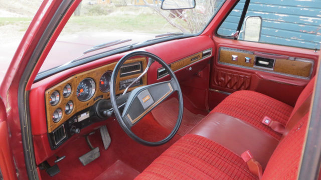Nada Classic Cars >> GMC Sierra 1500 Standard Cab Pickup 1977 maroon For Sale ...