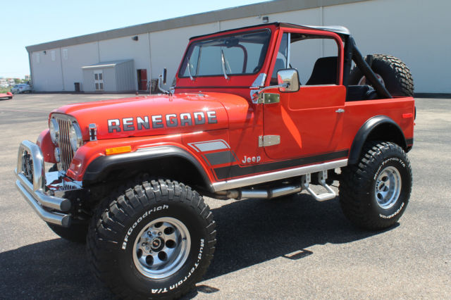 Jeep CJ [xfgiven_type]%xfields_type%[/xfgiven_type] 1977 Red For ...