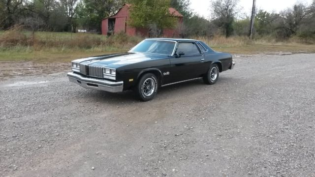 Oldsmobile cutlass coupe 1977 black for sale xfgiven vin for 1977 oldsmobile cutlass salon