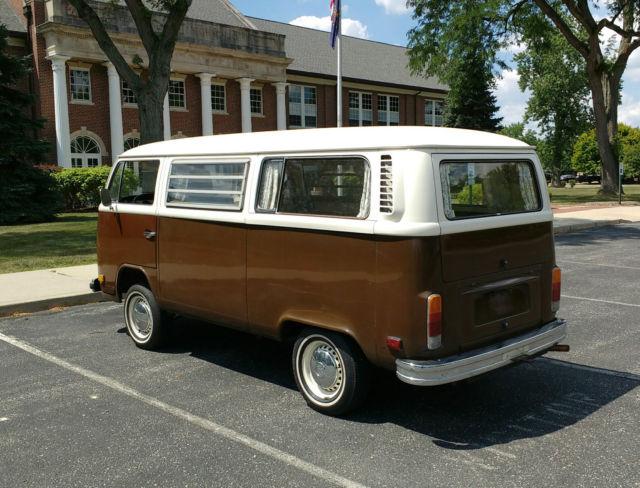volkswagen bus vanagon 1977 brown for sale 2272114247 1977