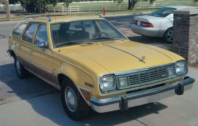 Other Makes Concord Wagon 1978 Yellow For Sale