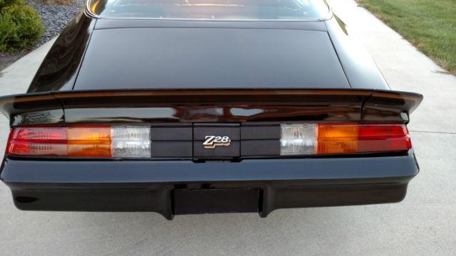 Chevrolet Camaro Coupe 1978 Black For Sale 1q87l8n589003