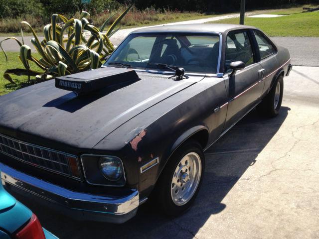 Chevrolet Nova 1978 Black For Sale  1X27U8T187608 1978 Chevy