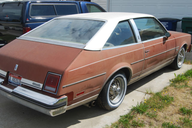 Oldsmobile cutlass coupe 1978 rust for sale 3j87f8m547626 for 1978 oldsmobile cutlass salon