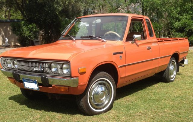 Datsun Other Extended Cab Pickup 1978 Orange For Sale ...