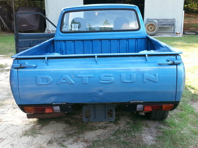 Datsun Other Extended Cab Pickup 1979 Blue For Sale ...