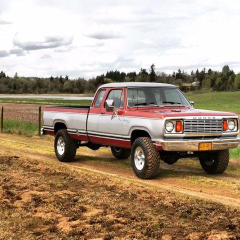 Dodge W Power Wagon Adventurer Club Cab Barn Find on 1977 Dodge Power Wagon Adventurer