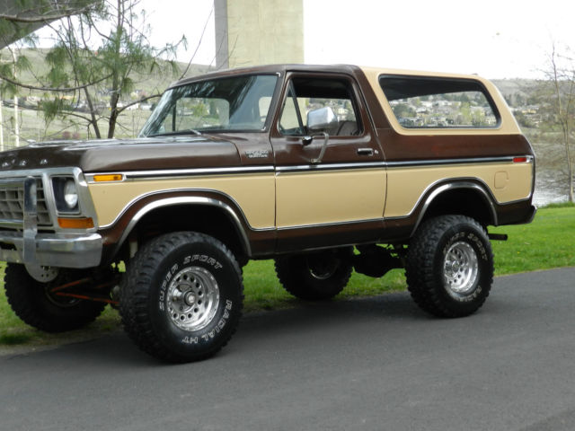 1978 Ford Bronco F150 4x4 Original Paint And Body Rare For The Year Best Price