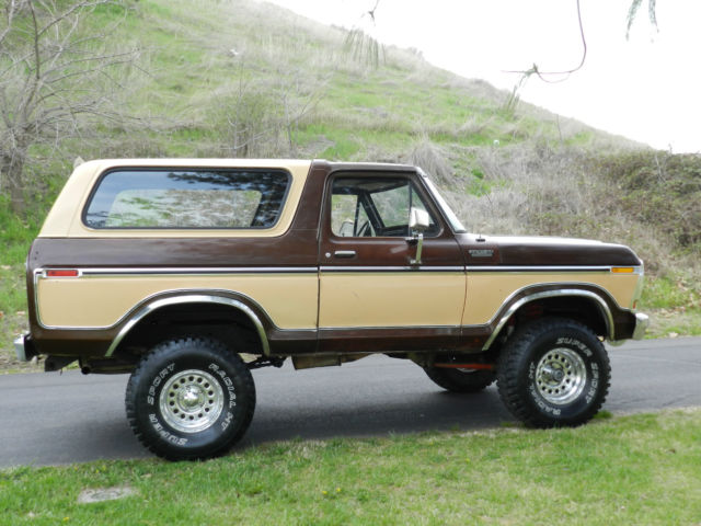 ford bronco suv 1978 brown and cream for sale xfgiven vin xfields vin xfgiven vin 1978. Black Bedroom Furniture Sets. Home Design Ideas