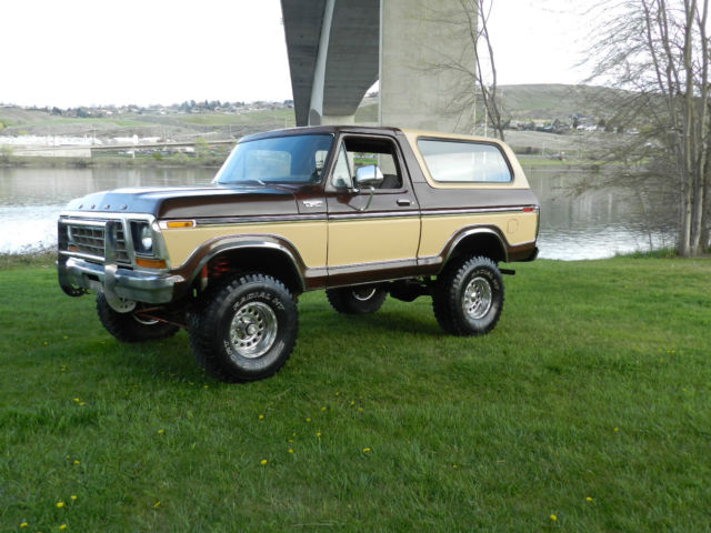 Ford Bronco SUV 1978 BROWN AND CREAM For Sale. 1978 Ford ...