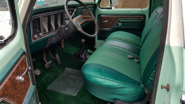 1978 Ford Truck >> Ford Bronco SUV 1978 LIGHT JADE/WIMBLEDON WHITE For Sale. U15HLCB6581 1978 Ford Bronco Ranger ...