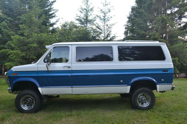 ford e series van standard cargo van 1978 blue for sale e25ahbg1660 1978 ford econoline 4x4. Black Bedroom Furniture Sets. Home Design Ideas