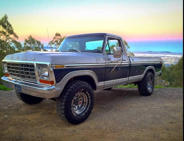 ford f 150 standard cab pickup 1978 silver for sale f14slba8513 1978 ford f 150 ranger lariat. Black Bedroom Furniture Sets. Home Design Ideas
