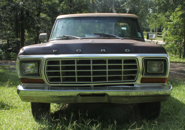 ford f 150 long bed standard cab pick up 1978 brown tan for sale f15hnce8576 1978 ford f 150. Black Bedroom Furniture Sets. Home Design Ideas