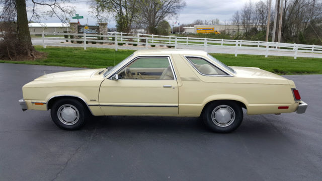 Ford Fairmont Coupe 1978 Yellow For Sale  8K93F255033 1978 Ford