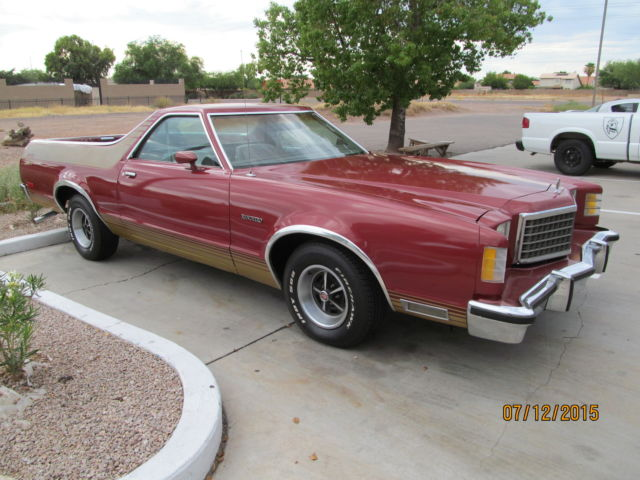 for sale 1978 ford ranchero gt