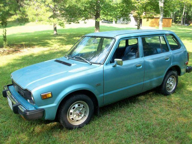 Honda Civic Wagon 1978 Light Blue For Sale. WBA4013395 ...