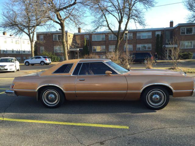 Mercury Cougar Coupe 1978 Gold For Sale xfgivenvinxfieldsvin