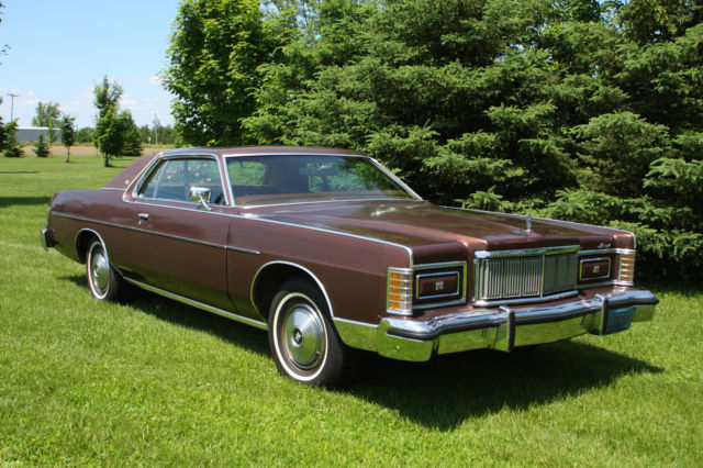 Seattle Car Auction >> Mercury Grand Marquis 1978 For Sale. 1978 Mercury Grand Marquis Coupe 24,780 miles