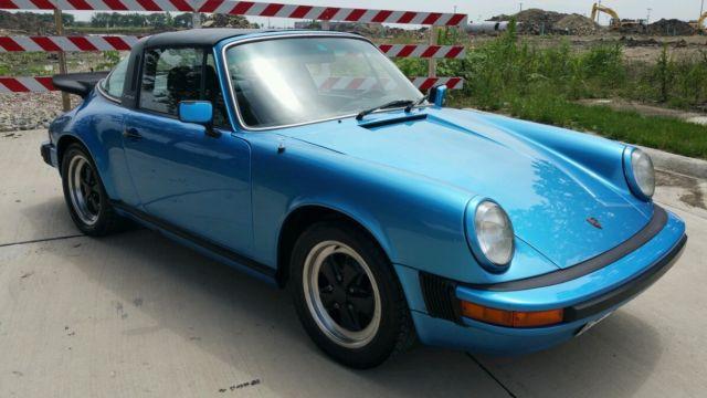 porsche 911 1978 for sale 9118310971 1978 porsche 911sc targa minerva blue euro spec car. Black Bedroom Furniture Sets. Home Design Ideas