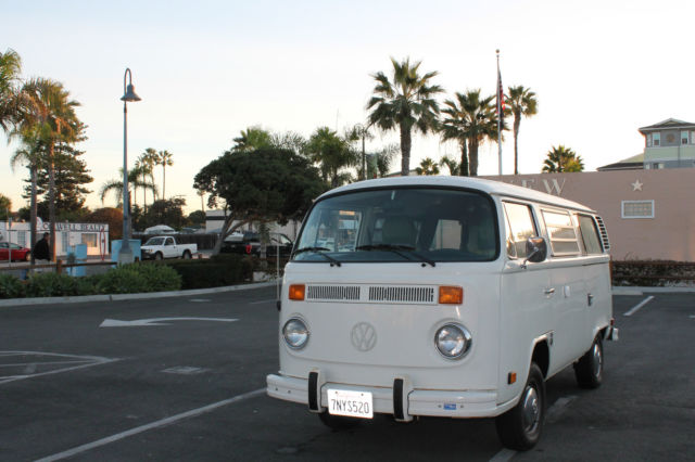 For sale 1978 Volkswagen Bus/Vanagon Westfalia & Volkswagen Bus/Vanagon Van Camper 1978 White For Sale ...