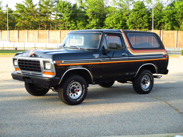 ford bronco suv 1979 black for sale u15hlfd4942 1979. Black Bedroom Furniture Sets. Home Design Ideas