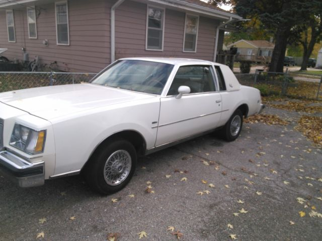 buick regal coupe 1979 white for sale 1979 buick regal. Black Bedroom Furniture Sets. Home Design Ideas