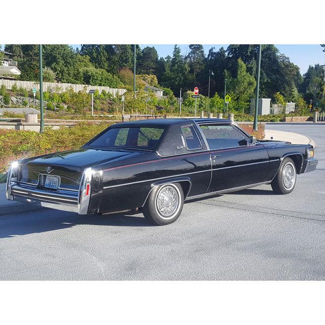 Cadillac DeVille Coupe 1979 Black For Sale. 6D47S9C3966D5