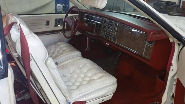 Cadillac Eldorado Coupe 1979 White For Sale  1979 Cadillac