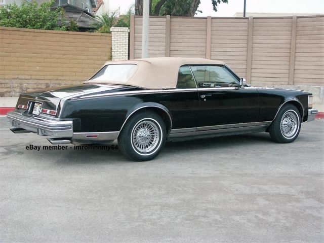 Cadillac Seville Convertible 1979 Black For Sale 1979