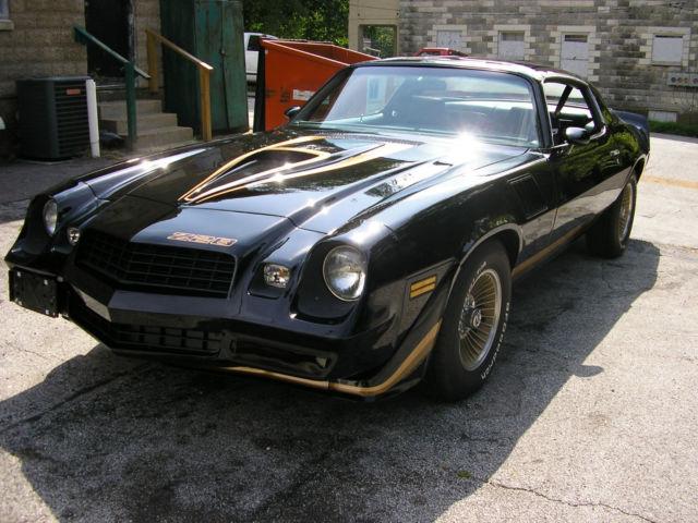 Chevrolet Camaro Coupe 1979 Black For Sale 1Q87L9L605354