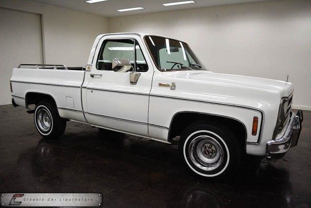 Chevrolet C 10 Standard Cab Pickup 1979 White For Sale