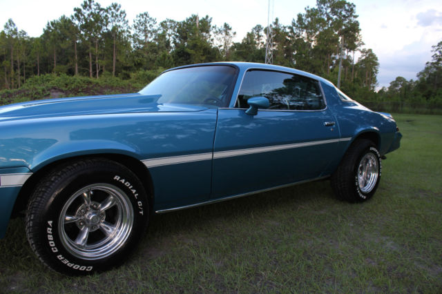 Chevrolet Camaro Coupe 1979 Sky Blue For Sale