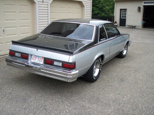 Chevrolet Malibu Coupe 1979 Silver  Charcoal For Sale  1w27h9b422722 1979 Chevrolet Malibu Big Block