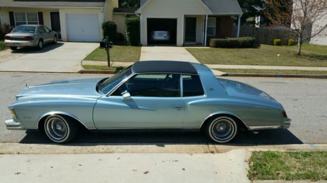 Chevrolet Monte Carlo 1979 Blue For Sale Chevy