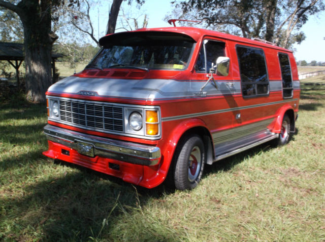 c41615a8fe Dodge Ram Van Extended Passenger Van 1979 Red   Silver For Sale.  B21JE9X150852 1979 Dodge B-200 CUSTOM STREET HIPPIE CAMPER VAN amazing  condition from the ...