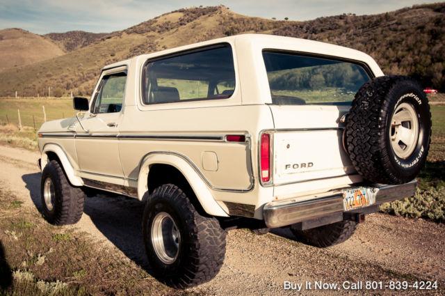 For Sale 1979 Ford Bronco Custom 4WD 460ci V8 XLT Ranger