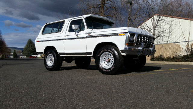 For Sale 1979 Ford Bronco Xlt
